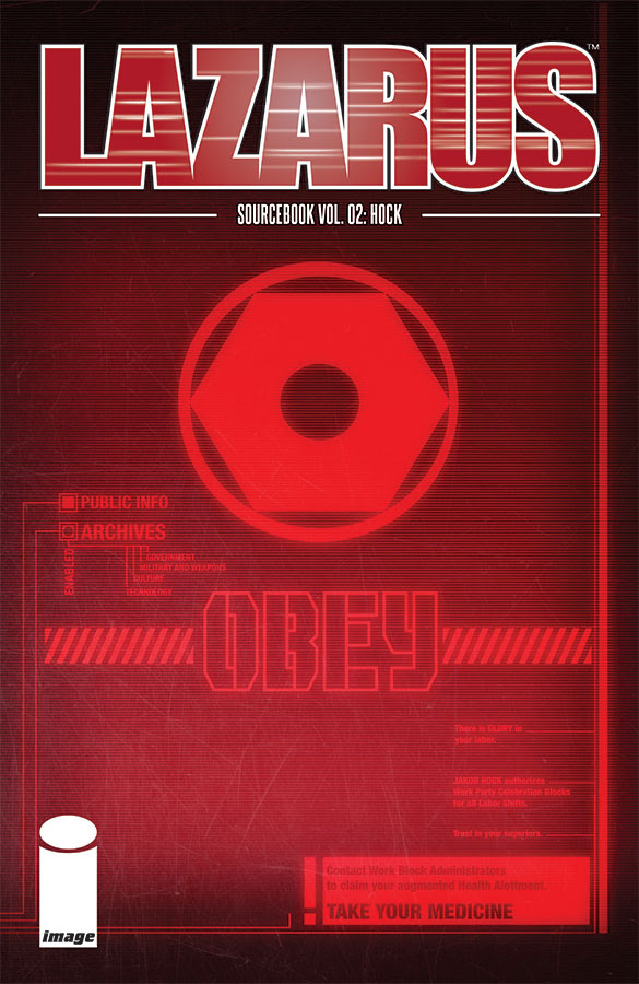Lazarus Sourcebook #2: Hock Hits Stores this April