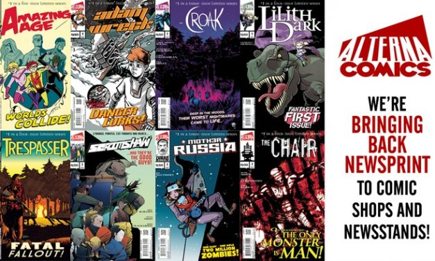Alterna Comics is Bringing Back Newsprint