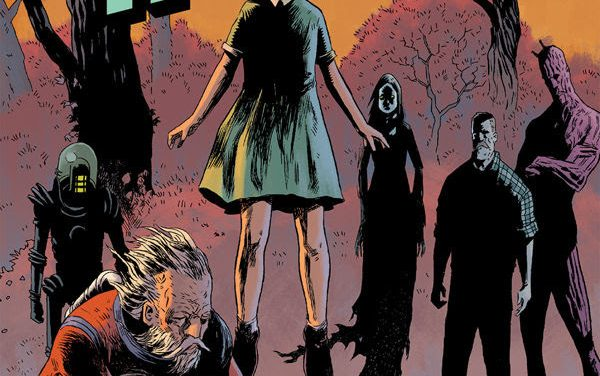 Uncover the Secret Origins of Jeff Lemire's Black Hammer