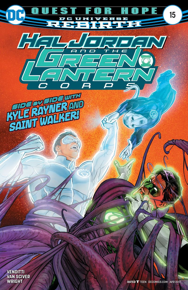 Hal Jordan and the Green Lantern Corps #15