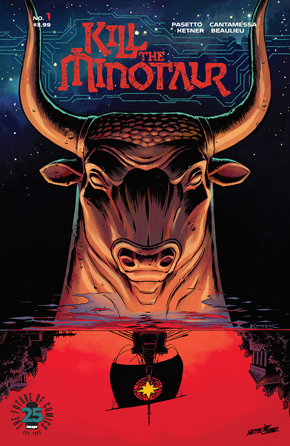 Kill the Minotaur Hits Stores This June