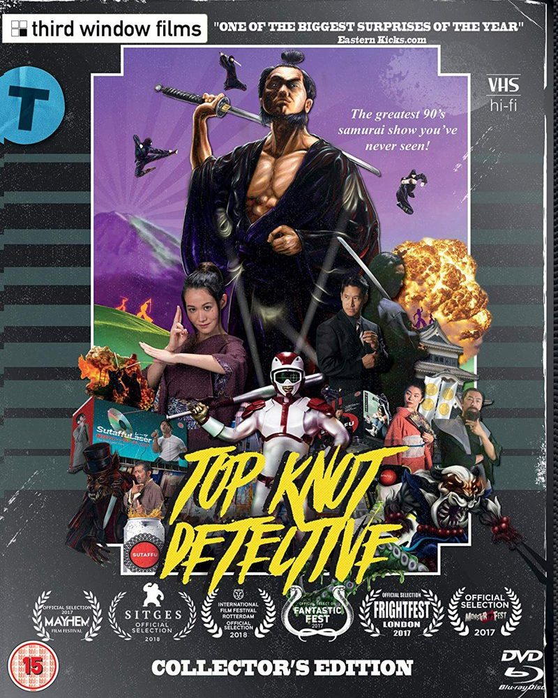 Top Knot Detective Review