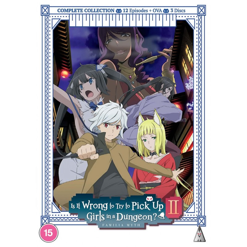 isitwrongtotrytopickupgirlsinadungeon-season-2