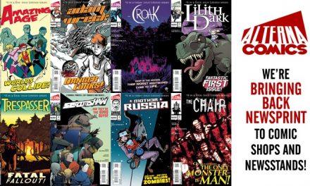 Alterna Comics is Bringing Back Newsprint