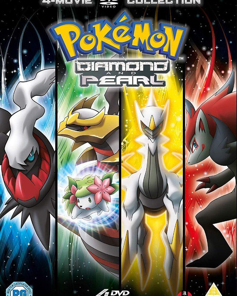 Pokémon Movie: Diamond & Pearl Collection Review