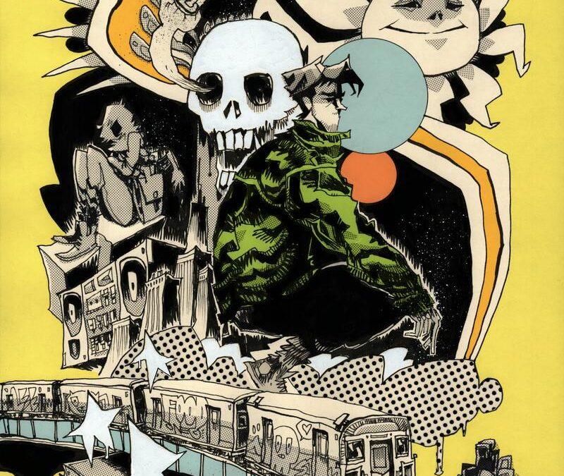 Darling #1 Jim Mahfood Variant Cover